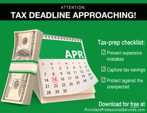 Business Tax Preparation Checklist